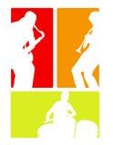 Bande de jazz latine Photo libre de droits