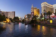 Bande de Las Vegas à Las Vegas, nanovolt le 26 juin 2013 Photo libre de droits