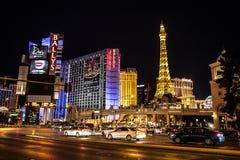 Bande de Las Vegas photographie stock