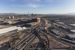 Bande de Las Vegas et 15 d'un état à un autre Photo stock