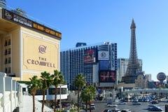 Bande de Las Vegas, Las Vegas, nanovolt images libres de droits