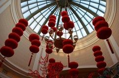 Bande de Las Vegas, rouge, carillon, cloche, gong, abaque, serre chaude, crèche, serre Image libre de droits
