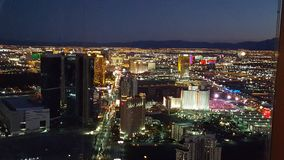 Bande de Las Vegas photo libre de droits