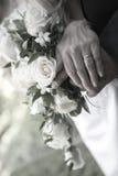 Bande de mariage Photos libres de droits