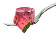 bande de mesure de fourchette Photographie stock