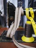 Bande de mesure de machine à coudre Images stock