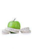 bande de mesure vert pomme Images libres de droits