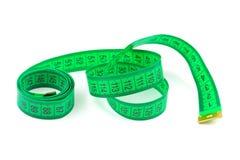 Bande de mesure verte Photographie stock