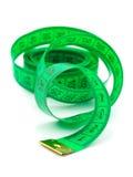 Bande de mesure verte Image stock