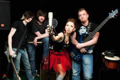 Bande de musique Images stock