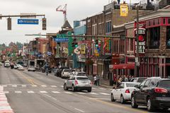 Bande de Nashville Broadway Photos libres de droits