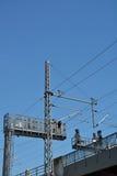 Bande de puissance et cable électrique Photos libres de droits