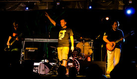 bande de Punk-roche AMORALE Photos libres de droits