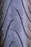 Bande de roulement de pneu pour la moto Photographie stock libre de droits