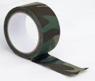 Bande de tissu de camouflage Photographie stock