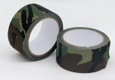 Bande de tissu de camouflage Photo libre de droits