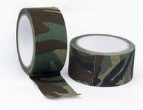 Bande de tissu de camouflage Images stock