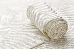 Bande de tissu de fibre de verre Images libres de droits