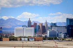 Bande de Vegas, 3 bout droit de 8 milles décrit avec les hôtels et le casino de classe du monde à Las Vegas, Nevada Photo stock