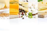 Bande del preparato del formaggio Fotografie Stock Libere da Diritti