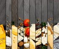 Bande del preparato del formaggio Fotografia Stock Libera da Diritti
