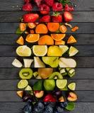 Bande del preparato della frutta Fotografia Stock Libera da Diritti