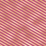 Bande dell'oro su fondo rosa Fotografia Stock Libera da Diritti