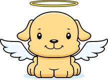 Bande dessinée Angel Puppy de sourire Photographie stock libre de droits