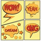 Bande dessinée bang2-5 Image libre de droits