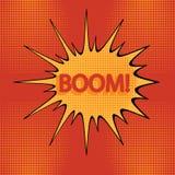 Bande dessinée boom-1 Photo stock