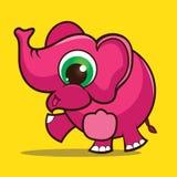 Bande dessinée d'éléphant Photo libre de droits