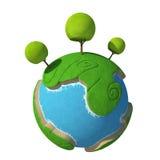 Bande dessinée 3D de planète Photo libre de droits