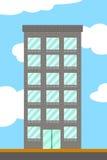 Bande dessinée de bâtiment Images stock