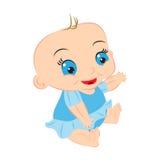 Bande dessinée de bébé Photo libre de droits