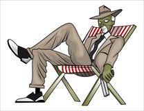 Bande dessinée de bandit d'hommes Images libres de droits