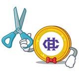 Bande dessinée de caractère de pièce de monnaie de Barber Hshare Images libres de droits
