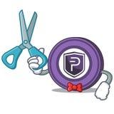 Bande dessinée de caractère de pièce de monnaie de Barber Pivx Images libres de droits