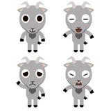 Bande dessinée de chèvre Image libre de droits