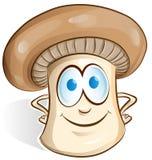Bande dessinée de champignon Photographie stock libre de droits