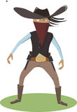 Bande dessinée de cowboy Photos libres de droits