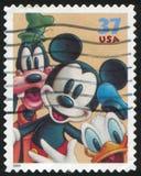Bande dessinée de Disney Photos libres de droits