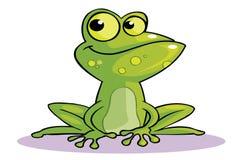 Bande dessinée de grenouille Images stock