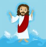 Bande dessinée de Jésus Image stock