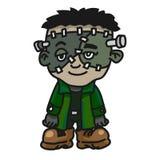 Bande dessinée de monstre de créature de Halloween - illustration de vecteur illustration de vecteur