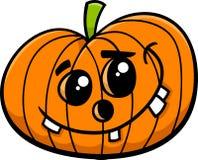 Bande dessinée de potiron de Jack Halloween Images stock