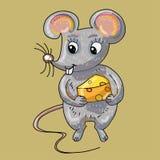 Bande dessinée de souris Photographie stock libre de droits