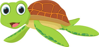 Bande dessinée de tortue de mer