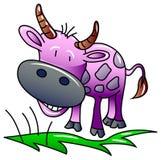 Bande dessinée de vache illustration stock