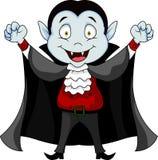 Bande dessinée de vampire Photo stock