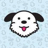 Bande dessinée de vecteur d'icône de chien Photo libre de droits